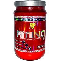 BSN, Amino-X, выносливость и восстановление, фруктовый пунш, 15,3 унций (435 г), купить, цена, отзывы
