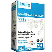 Jarrow Formulas, Идеальная забота о кишечнике, 299v, 30 овощных капсул