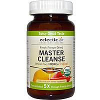 Eclectic Institute, Порошок для очистки организма Master Cleanse, пряный, 130 г, купить, цена, отзывы