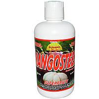 Dynamic Health Laboratories, Мангостан, антиоксидантная добавка, 32 жидких унции (946 мл), купить, цена, отзывы