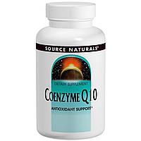 Source Naturals, Коэнзим Q10, 200 мг, 60 капсул, купить, цена, отзывы