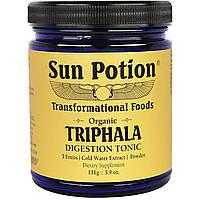 Sun Potion, Порошок Triphala, Органический Экстракт в Холодной Воде, 3,9 унции (111 г), купить, цена, отзывы