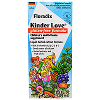 Flora, Флорадикс, Киндер Любовь, Детские Поливитамины, 8,5 жидких унций (250 мл), купить, цена, отзывы
