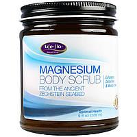 Life Flo Health, Скраб для тела с магнием, 9 жид.унции(266 мл), купить, цена, отзывы