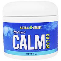 Natural Vitality, Натуральный успокаивающий крем, 4 унции, купить, цена, отзывы