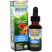 Fungi Perfecti, Host Defense Mushrooms, экстракт из органических грибов для очищения органов дыхания и поддержки здоровья респираторной системы, 1,