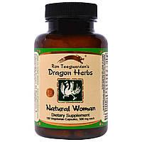 Dragon Herbs, Володушка с пионом, по 500 мг, 100 капсул на растительной основе, купить, цена, отзывы
