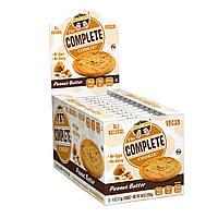 Lenny & Larry's, Complete Cookie, с арахисовым маслом, 12 печений, 4 унции (113 гр), купить, цена, отзывы