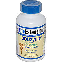 Life Extension, SODzyme с GliSODin и снежноягодником западным, 90 капсул в растительной оболочке, купить, цена, отзывы