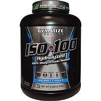 Dymatize Nutrition, ISO•100 Hydrolyzed 100% Whey Protein Isolate, Gourmet Vanilla, 5 lbs (2.27 kg), купить, цена, отзывы
