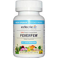 Eclectic Institute, Пиретрум девичий, 125 мг, 90 растительных капсул без ГМО, купить, цена, отзывы