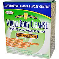 Enzymatic Therapy, Полное Очищение Организма, 10-Дневная Очищающая Система, Вкус Лимона набор из 3, купить, цена, отзывы