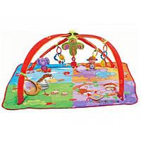 Развивающий коврик Разноцветное сафари - GYM MOVE & PLAY Tiny Love 1201806830