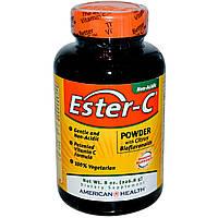 American Health, Ester-C, порошок с цитрусовыми биофлавоноидами, 8 жидких унций (226.8 г), купить, цена, отзывы