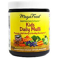 MegaFood, Добавка «Ежедневный мультивитамин для детей», 1,8 унции (49,8 г), купить, цена, отзывы