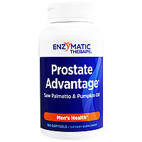 Enzymatic Therapy, Преимущество Простаты, Мужское Здоровье 180 гелевых капсул, купить, цена, отзывы