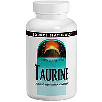 Source Naturals, Таурин, 500 мг, 120 таблеток, купить, цена, отзывы