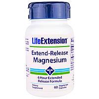 Life Extension, Длительное Выделение Магния, 30 Растительных капсул, купить, цена, отзывы