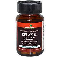 FutureBiotics, Расслабление и сон, 60 растительных таблеток, купить, цена, отзывы