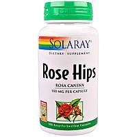 Solaray, Шиповник, 550 мг, 100 легко глотаемых капсул, купить, цена, отзывы