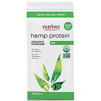 Nutiva, Органический суперпродукт, конопляный белок, 15 г, 30 унций (851 г), купить, цена, отзывы