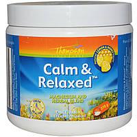 Thompson, Спокойствие и расслабление, вкус натурального лимона и меда, 270 г, купить, цена, отзывы