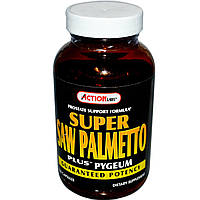 Action Labs, Super Saw Palmetto Plus Pygeum, 100 капсул, купить, цена, отзывы