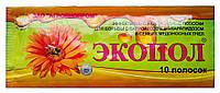 ЭКОПОЛ - пакет 10 полосок (5 доз), для лечения и профилактики ВАРРОАТОЗА и АКАРАПИДОЗА пчел (Агробиопром)