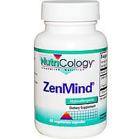Nutricology, Пищевая добавка ZenMind, 60 растительных капсул, купить, цена, отзывы