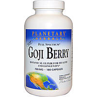 Planetary Herbals, Ягоды годжи, 700 мг, 180 капсул, купить, цена, отзывы