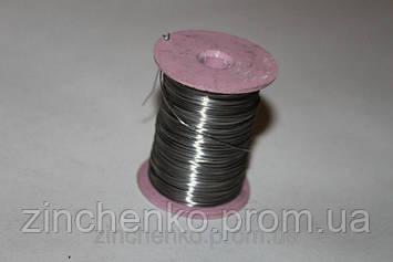 Проволка для рамок нержавеющая 0,5 мм, вес 250 г