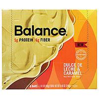 Balance Bar, Батончик Здорового Питания, Дульсе де Лече и Карамель, 6 батончиков, 1,41 унции (40 г) каждый, купить, цена, отзывы