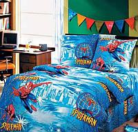 Комплект детского постельного белья подростковый Человек паук