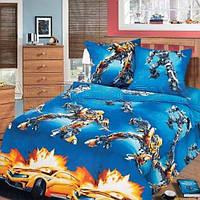 Комплект детского постельного белья подростковый Воин робот