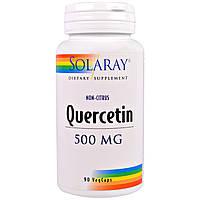 Solaray, Кверцетин, 500 мг, 90 вегетарианских капсул, купить, цена, отзывы