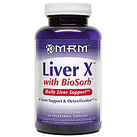 MRM, Печень X с BioSorb, 60 вегетарианских капсул, купить, цена, отзывы