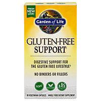 Garden of Life, Поддержка без глютена, 90 вегетарианских капсул, купить, цена, отзывы