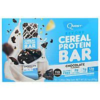 Quest Nutrition, Батончики с Протеиновыми Зернами, С Ароматом Шоколада, 15 батончиков, 1,34 унции (38 г) каждый, купить, цена, отзывы