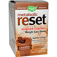 Nature's Way, Перегрузка метаболизма, управление аппетитом, шейк для потери веса, шоколад, 10 пакетов, 1,6 унций каждый, купить, цена, отзывы