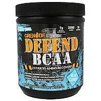 Grenade, Defend BCAA, Голубой Леденец, 13,76 унции (390 г), купить, цена, отзывы