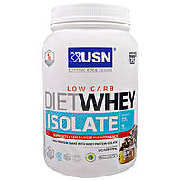 USN, Cutting Edge Series, диетический изолят сывороточного протеина, низкие углеводы, булочка с корицей, 1.54 фунта (700 г), купить, цена, отзывы