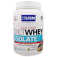 USN, Cutting Edge Series, диетический изолят сывороточного протеина, низкие углеводы, булочка с корицей, 1.54 фунта (700 г)