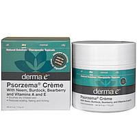 Derma E, Крем Psorzema, 4 унции (113 г), купить, цена, отзывы
