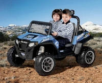 Детский электромобиль Peg-Perego Polaris Ranger RZR 900, цвет blue