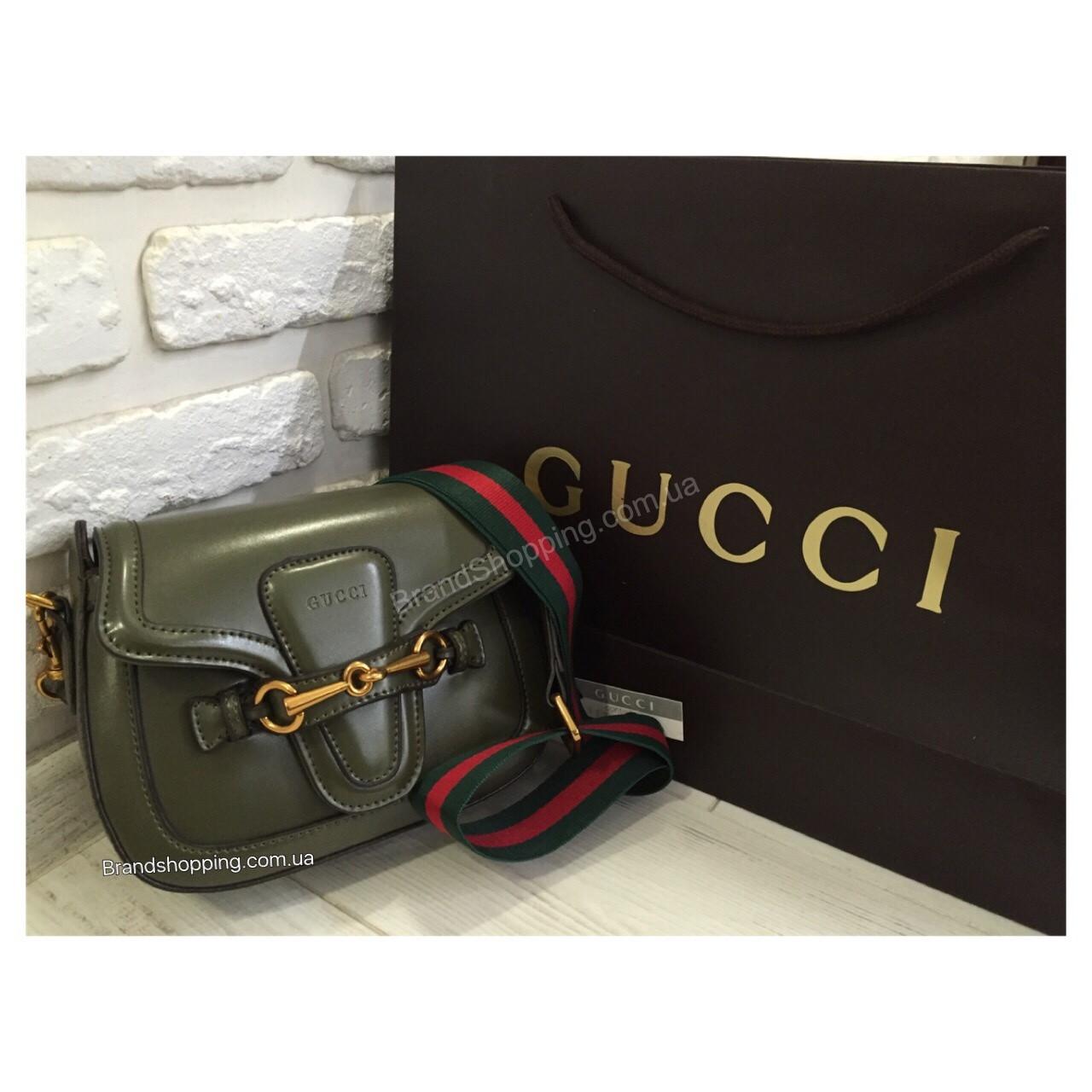 Женская кожаная сумка Gucci 0427 - купить по лучшей цене в Украине ... d25508f7227