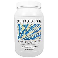 Thorne Research, Изолят сывороточного белка, ваниль, 28,5 унции (807 г)