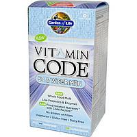 Garden of Life, Кодовый витамин, для мужчин от 50 и старше, 120 хорошо усваивающихся капсул на растительной основе