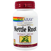 Solaray, Nettle Root Extract, 300 mg, 60 Capsules