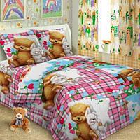 Ткань для постельного белья поплин Сладкий сон