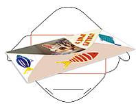 Конверт-открытка 166X85
